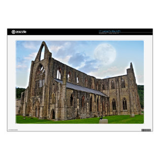 """Ancient Tintern Abbey, Cistercian Monastery, Wales Skin For 17"""" Laptop"""