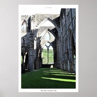 Ancient Tintern Abbey I Cistercian Monastery Wales Poster
