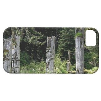 Ancient Totem World Heritage Site Haida iphone5 iPhone SE/5/5s Case