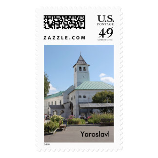 Ancient town postage stamps