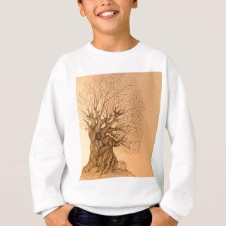 Ancient Tree Drawing Sweatshirt