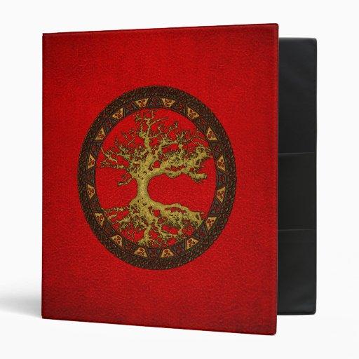 Ancient Tree of Life 3 Ring Binder