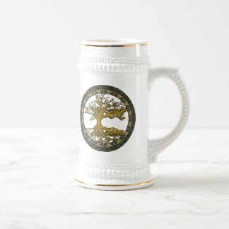 Ancient Tree of Life Beer Stein