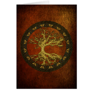 Ancient Tree of Life Card