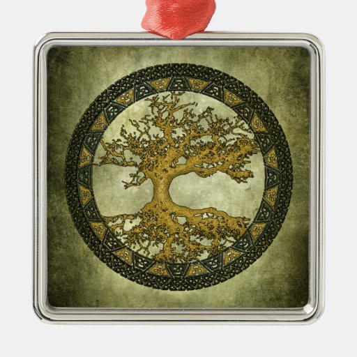 Ancient Tree of Life Christmas Tree Ornaments