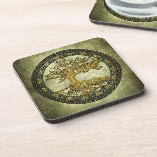 Ancient Tree of Life Beverage Coaster