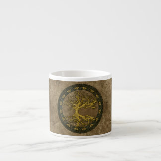 Ancient Tree of Life Espresso Cup