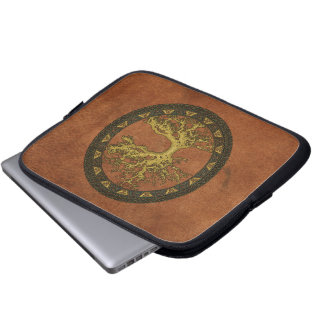 Ancient Tree of Life Laptop Sleeves