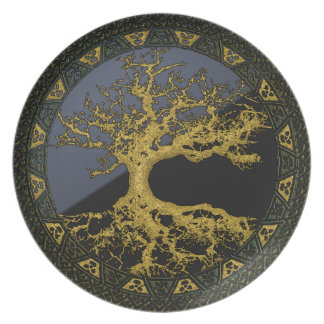 Ancient Tree of Life Plate