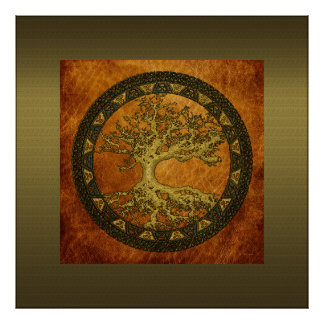 Ancient Tree of Life Poster