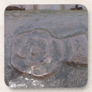 Ancient Tudor Rose Beverage Coasters