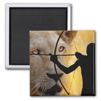 Ancient Warriors 2 Inch Square Magnet