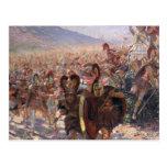 Ancient Warriors Postcard