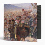 Ancient Warriors Vinyl Binder