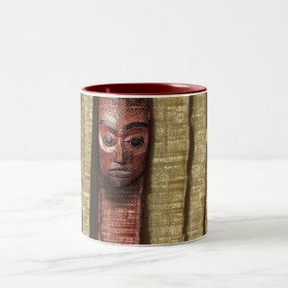 ancient whisper Two-Tone coffee mug