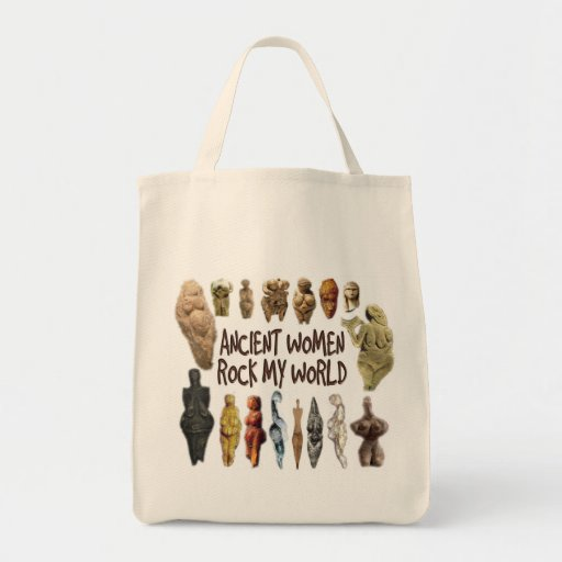 Ancient Women Rock My World Grocery Tote Grocery Tote Bag