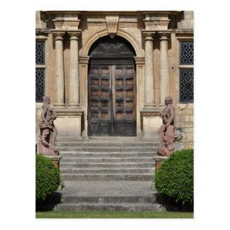Ancient Wood Doors Postcard