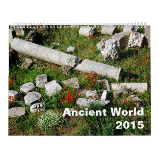 Ancient world 2015 calendar