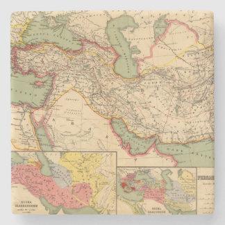 Ancient world empires of the Persians,Macedonians Stone Coaster