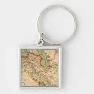 Ancient world empires of the Persians,Macedonians Keychain