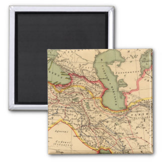 Ancient world empires of the Persians,Macedonians Refrigerator Magnet