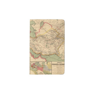 Ancient world empires of the Persians,Macedonians Pocket Notebook Cover