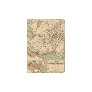 Ancient world empires of the Persians,Macedonians Passport Holder