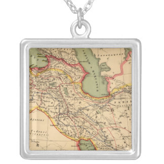 Ancient world empires of the Persians,Macedonians Silver Plated Necklace