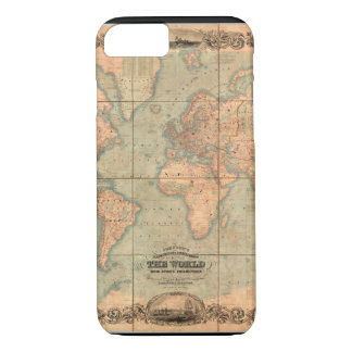 Ancient World Map 4 iPhone 7 Case