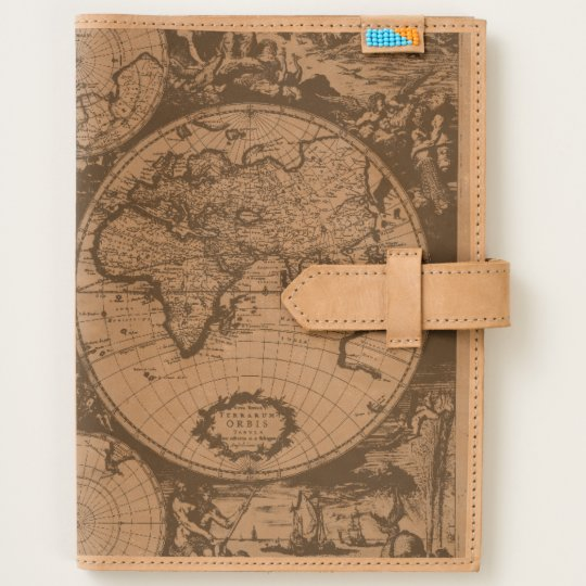 Ancient world map leather journal zazzle ancient world map leather journal gumiabroncs Gallery