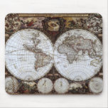 Ancient World Map Mouse Pad