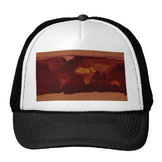 Ancient world map trucker hat