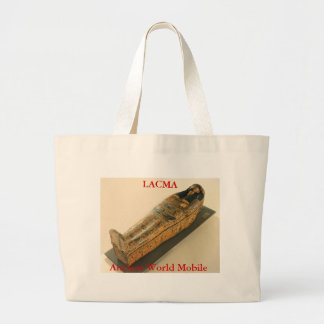 Ancient World Mobile Sarcophagus Large Tote Bag