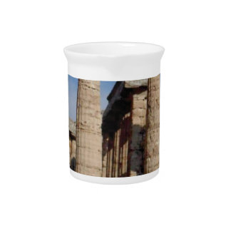 ancient world towers drink pitcher