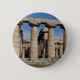 ancient world towers pinback button