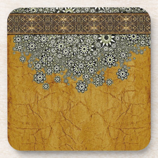 Ancient Worlds Decorative Graphic Beverage Coaster