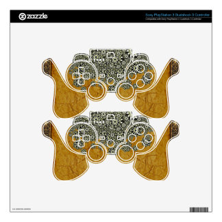 Ancient Worlds Decorative Graphic PS3 Controller Skins