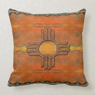 Ancient Zia Throw Pillow