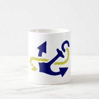 Ancla anchor taza básica blanca
