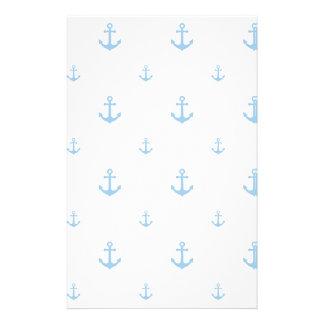Ancla azul clara papeleria personalizada