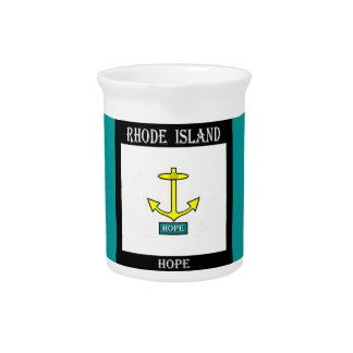 Ancla de la esperanza de Rhode Island Jarron