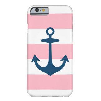 Ancla de la marina de guerra y caso del iPhone 6 Funda De iPhone 6 Slim
