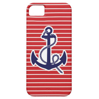 Ancla de los azules marinos iPhone 5 Case-Mate coberturas