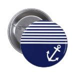 Ancla del amor de los azules marinos náutica
