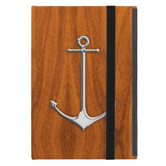 Ancla del cromo en forma de vida náutica de la iPad mini protector