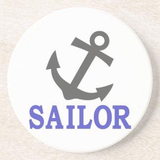 Ancla del marinero posavasos para bebidas
