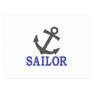 Ancla del marinero postal