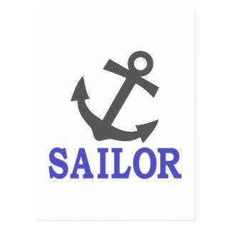 Ancla del marinero tarjetas postales