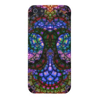 Ancla emeregente V del mosaico 5 caso del iPhone 5 iPhone 5 Protectores