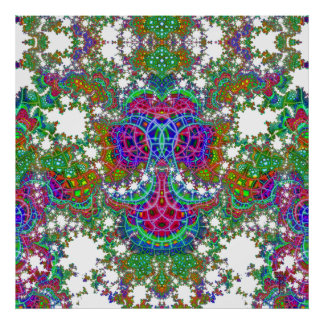 Ancla emeregente V del mosaico impresión de 3 arte Póster